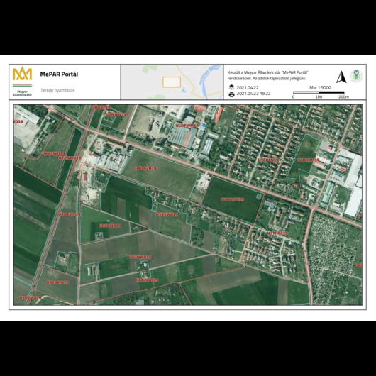 Eladó telek Jász-Nagykun-Szolnok megye, Mezőtúr, Kodály Zoltán utca