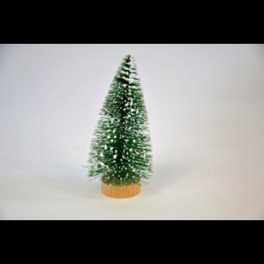 Fenyőfa zöld fa talppal 6 cm 5 db/cs
