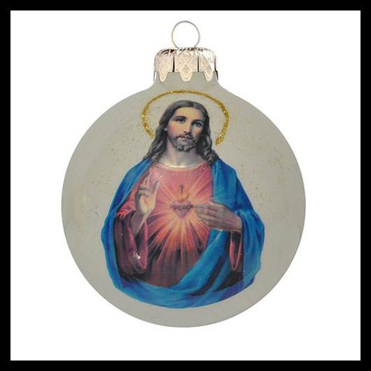 Jézus glóriával PP - Karácsonyfadísz