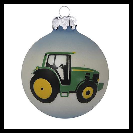 Traktor kék/fehér