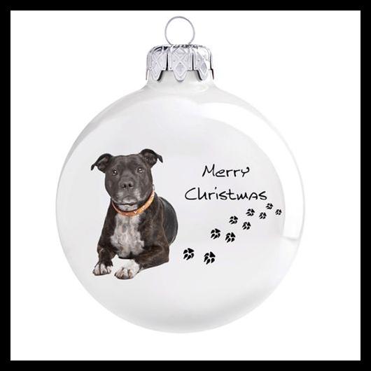 Staffordshire terrier porcelán