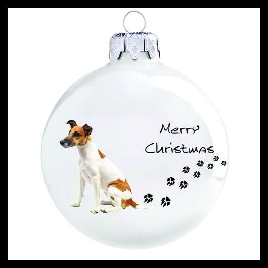 Fox terrier porcelán