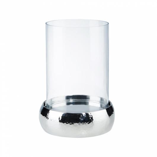 LORD szélfogó üveg/rozsdamentes acél 23cm