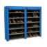 Kép 1/2 - Mobil cipőtároló szekrény, kék