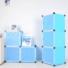 Kép 2/2 - Műanyag elemes szekrény, kék