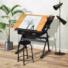 Kép 1/7 - Dönthető rajzasztal ajándék székkel
