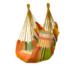 Kép 2/2 - Függőszék párnával, narancssárga