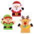 Kép 2/5 - Karácsonyi báb varrókészlet 4 db-os Baker Ross AT185