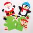 Kép 3/5 - Karácsonyi báb varrókészlet 4 db-os Baker Ross AT185