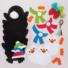 Kép 4/5 - Karácsonyi pingvin dekorálható függődísz készlet 3 db-os Baker Ross AT238