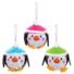 Kép 2/4 - Karácsonyi pingvin gömb dekorálható függődísz készlet 6 db-os Baker Ross AT241