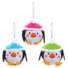 Kép 1/4 - Karácsonyi pingvin gömb dekorálható függődísz készlet 6 db-os Baker Ross AT241
