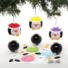 Kép 3/4 - Karácsonyi pingvin gömb dekorálható függődísz készlet 6 db-os Baker Ross AT241
