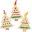 Kép 2/4 - Karácsonyfa keresztszemes varrókészlet fa függődísz 5 db-os Baker Ross AX424