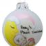 Kép 2/2 - Baby first christmas holdas lány - Karácsonyfadísz