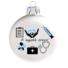 Kép 1/2 - A legjobb orvos matt fehér 8cm - Karácsonyfadísz