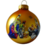 Kép 2/2 - Betlehem matt arany 8cm - Karácsonyfadísz