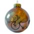 Kép 1/2 - Bicikliző maci kislánnyal opál flieder 8cm - Karácsonyfadísz