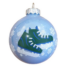 Kép 1/2 - Korcsolya 8cm opál kék - Karácsonyfadísz