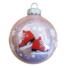 Kép 1/2 - Korcsolya 8cm opál rózsaszín - Karácsonyfadísz