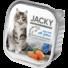 Kép 1/2 - Jacky alutálka pástétom lazac 100g felnőtt macskáknak