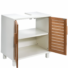 Kép 2/7 - WHITE SANDS szekrény 60x38x61.5cm