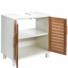 Kép 1/7 - WHITE SANDS szekrény 60x38x61.5cm