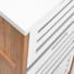 Kép 4/7 - WHITE SANDS polc fiókokkal 45x30x85cm