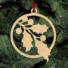Kép 5/5 - Fa karácsonyfadísz - fagyöngy