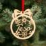 Kép 1/2 - Fa karácsonyfadísz – Tesó