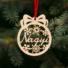 Kép 1/2 - Fa karácsonyfadísz – Nagyi